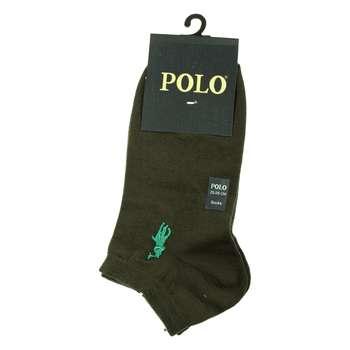جوراب مردانه مدل P-2020 رنگ سدری تیره