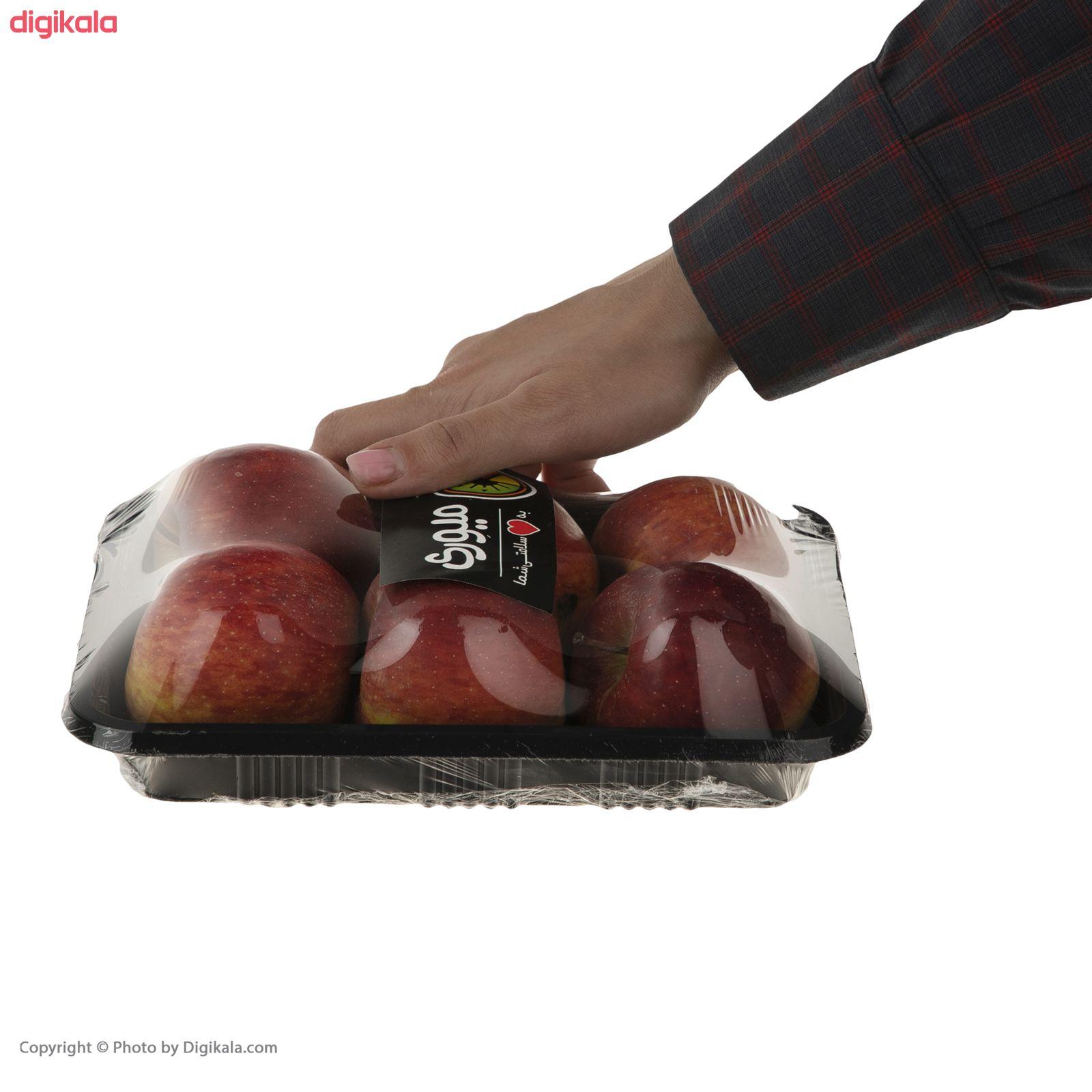 مینی سیب قرمز میوری - 750 گرم   main 1 1