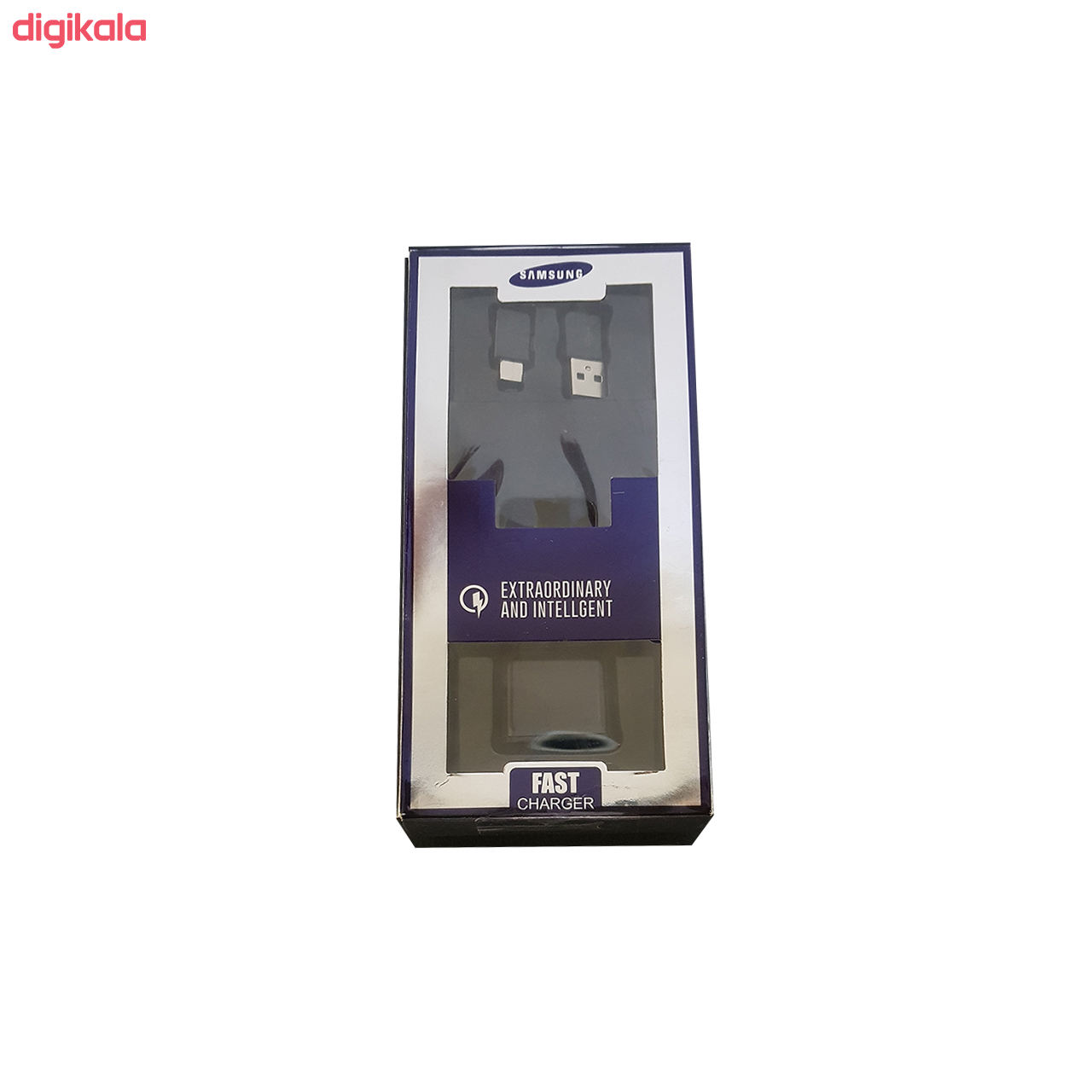 شارژر دیواری سامسونگ مدل SA-C309 به همراه کابل تبدیل USB-C main 1 2