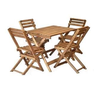 میز و صندلی ناهار خوری 4 نفره مدل OP2