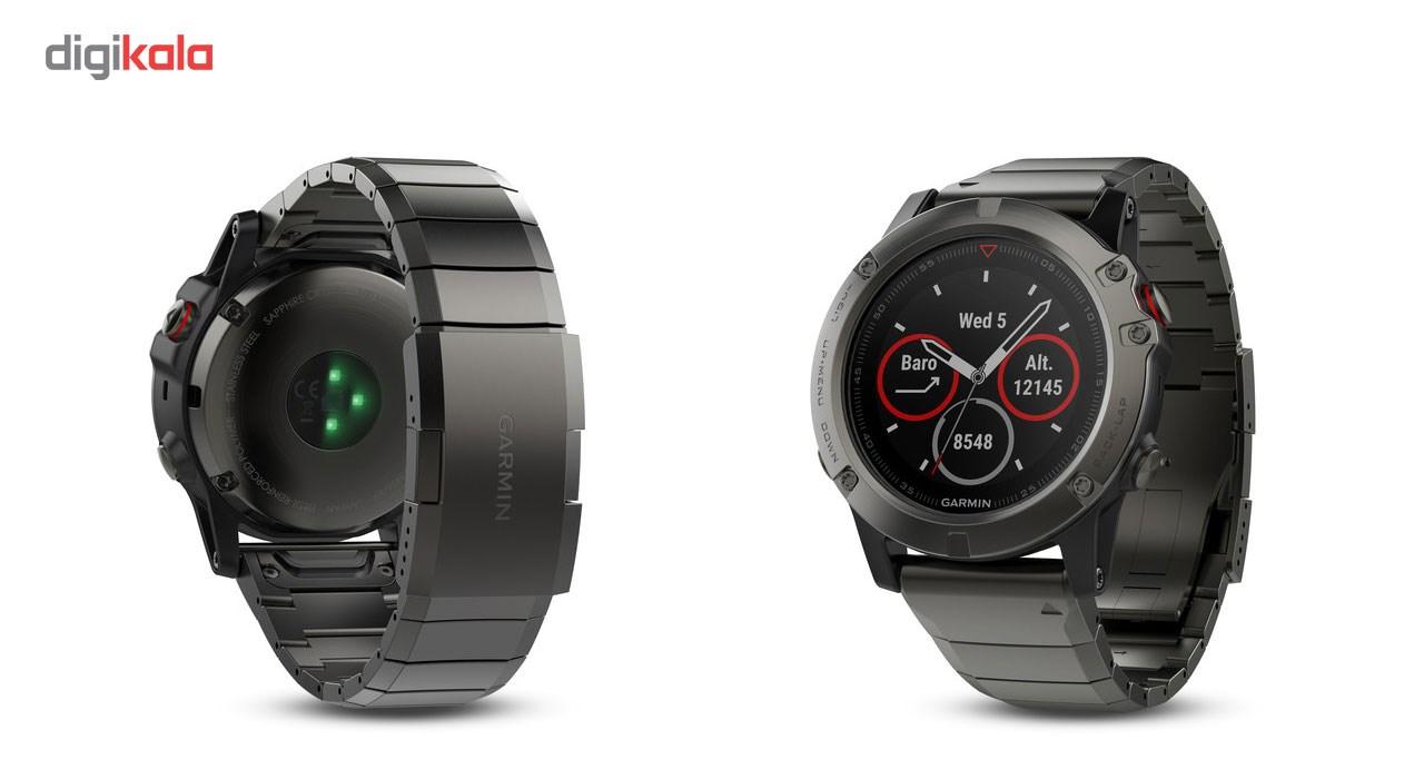 ساعت ورزشی گارمین مدل Fenix 5X 010-01733-03