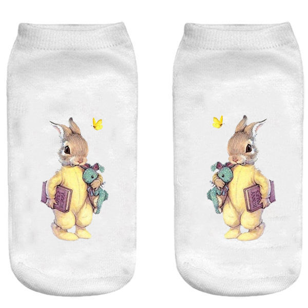 جوراب بچگانه طرح خرگوش کد o53