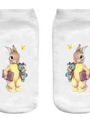 جوراب بچگانه طرح خرگوش کد o53 -  - 1