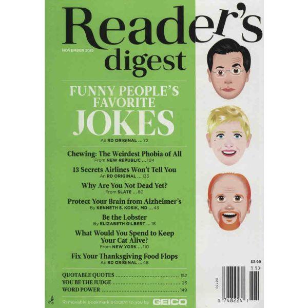 مجله ریدرز دایجست - نوامبر 2015