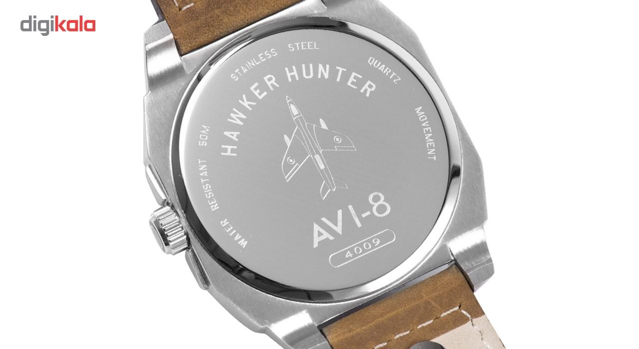 ساعت مچی عقربه ای مردانه ای وی-8 مدل AV-4009-01
