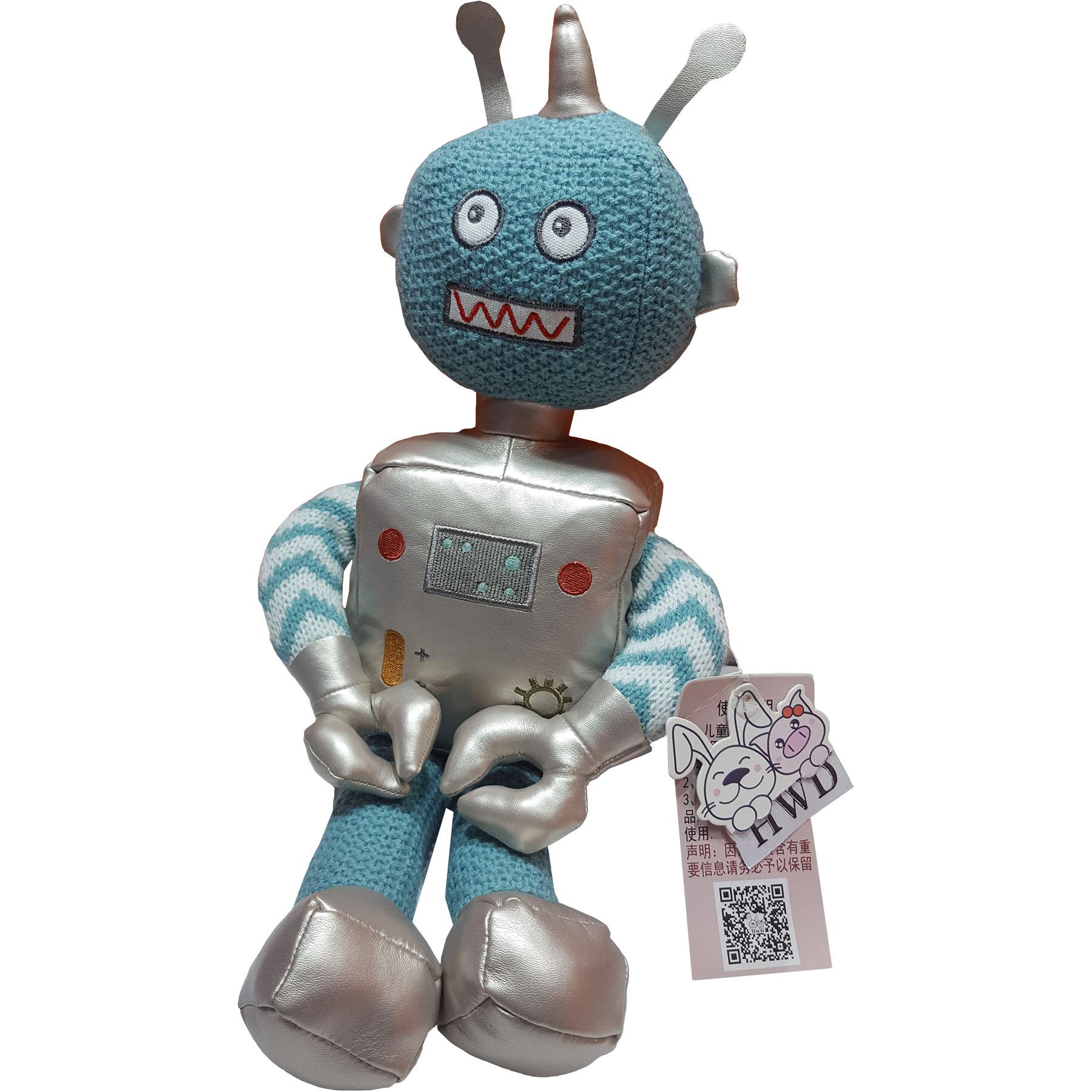 عروسک اچ دبلیو دی طرح ربات ارتفاع ۴۰ سانتی متر