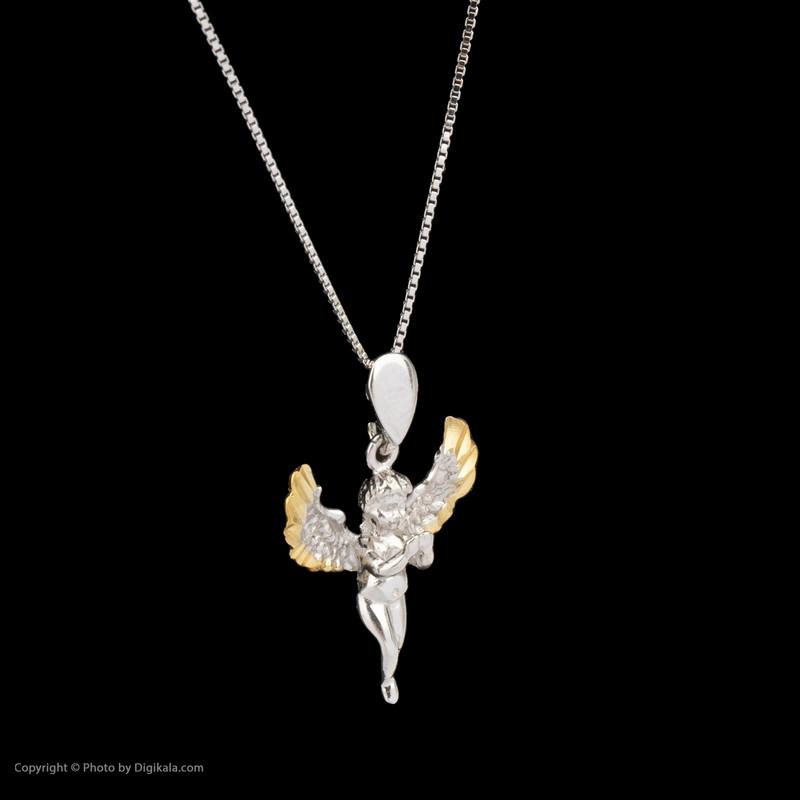 گردنبند نقره زنانه طرح فرشته کد 158