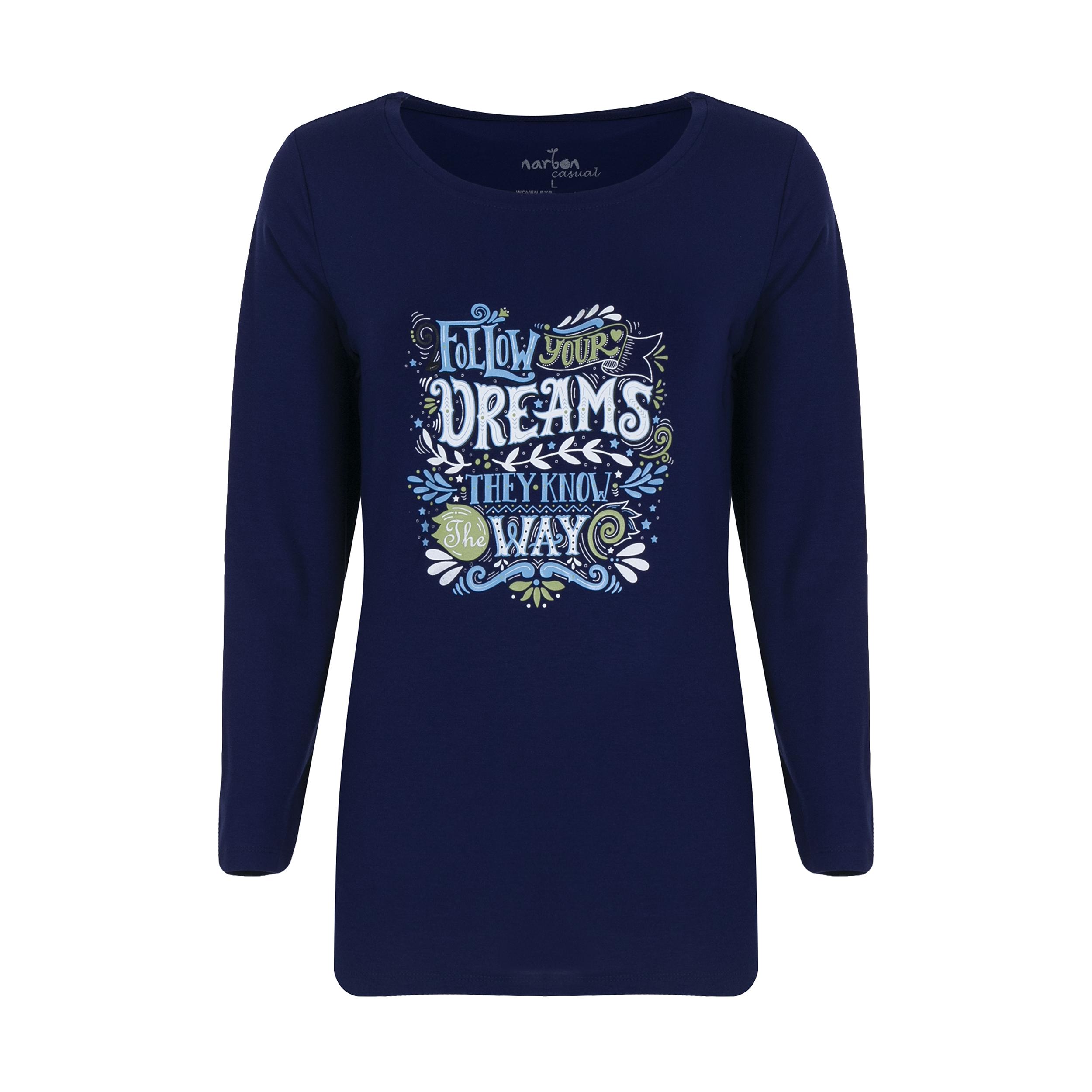 تی شرت زنانه ناربن مدل 1521249-59