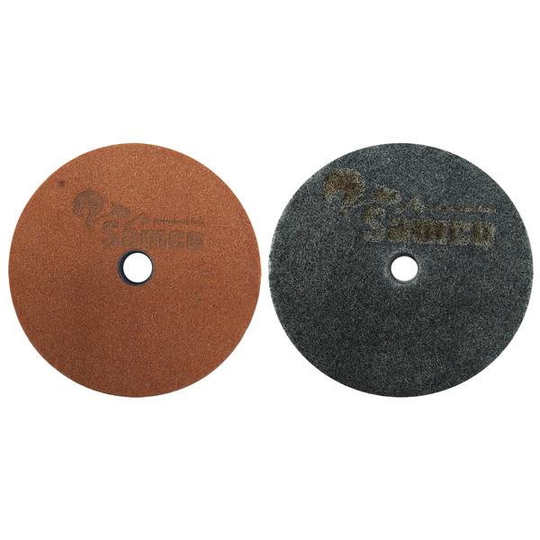 مجموعه 2 عددی سنگ پولیش و سنگ چاقو تیز کن سامکو مدل YPCH-POL02