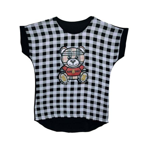 تی شرت آستین کوتاه زنانه مدل خرسی کد K1 غیر اصل