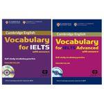 کتاب Vocabulary For IELTS اثر Pauline Cullen انتشارات سپاهان 2 جلدی
