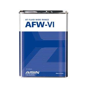روغن گیربکس خودرو آیسین مدل AFW-VI ظرفیت 4 لیتر