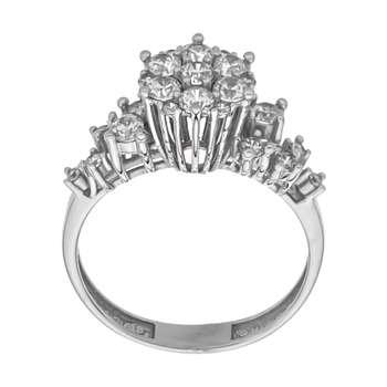 انگشتر طلا 18 عیار زنانه مایا ماهک مدل MR0435