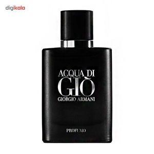 پرفیوم مردانه جورجیو آرمانی مدل Acqua Di Gio Profumo حجم 125 میلی لیتر  Giorgio Armani Acqua Di Gi