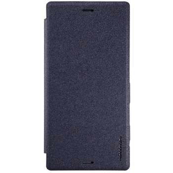 کیف کلاسوری نیلکین مدل New Leather Sparkle مناسب برای گوشی موبایل سونی Xperia XZ