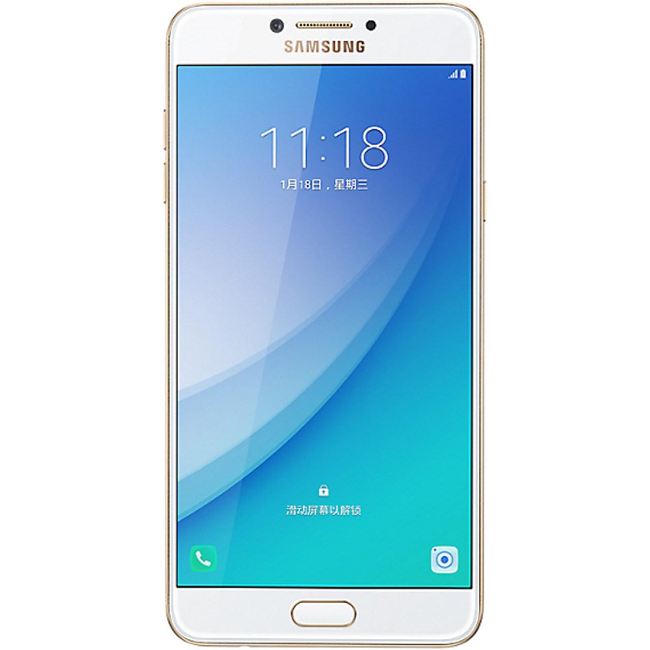 گوشی موبایل سامسونگ مدل Galaxy C7 Pro دو سیم کارت