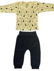 ست تی شرت و شلوار نوزادی طرح فیل کد FF-085  -  - 1