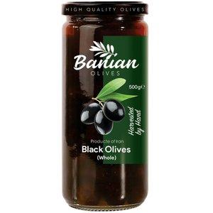 زیتون سیاه با هسته بانیان - 500 گرم
