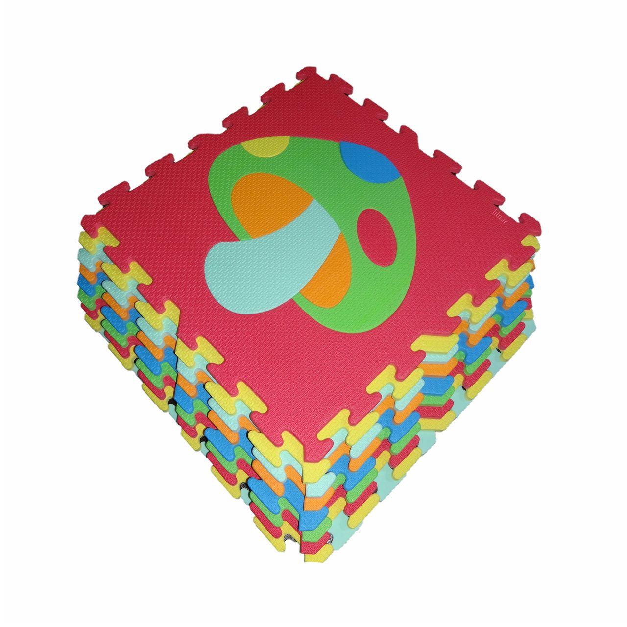 کفپوش تاتامی مدل میوه بسته 9 عددی