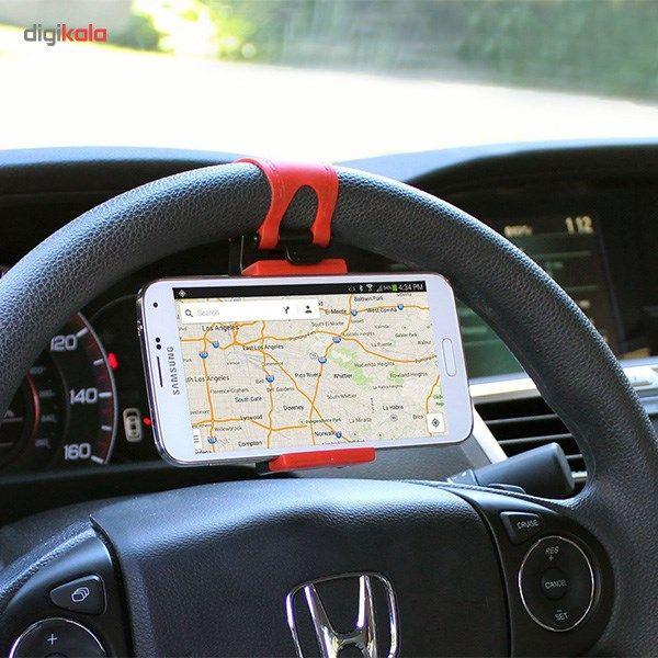 پایه نگهدارنده گوشی روی فرمان خودرو main 1 6