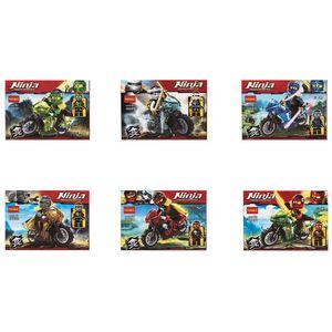 ساختنی دکول مدل Ninja 10029-10034 بسته 12 تایی