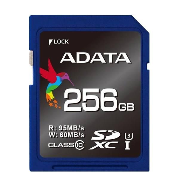 کارت حافظه SDXC ای دیتا مدل Premier Pro کلاس 10 استاندارد UHS-I U3 سرعت 95MBps ظرفیت 256 گیگابایت | Adata Premier Pro Class 10 UHS-I U3 95MBs SDXC - 256GB