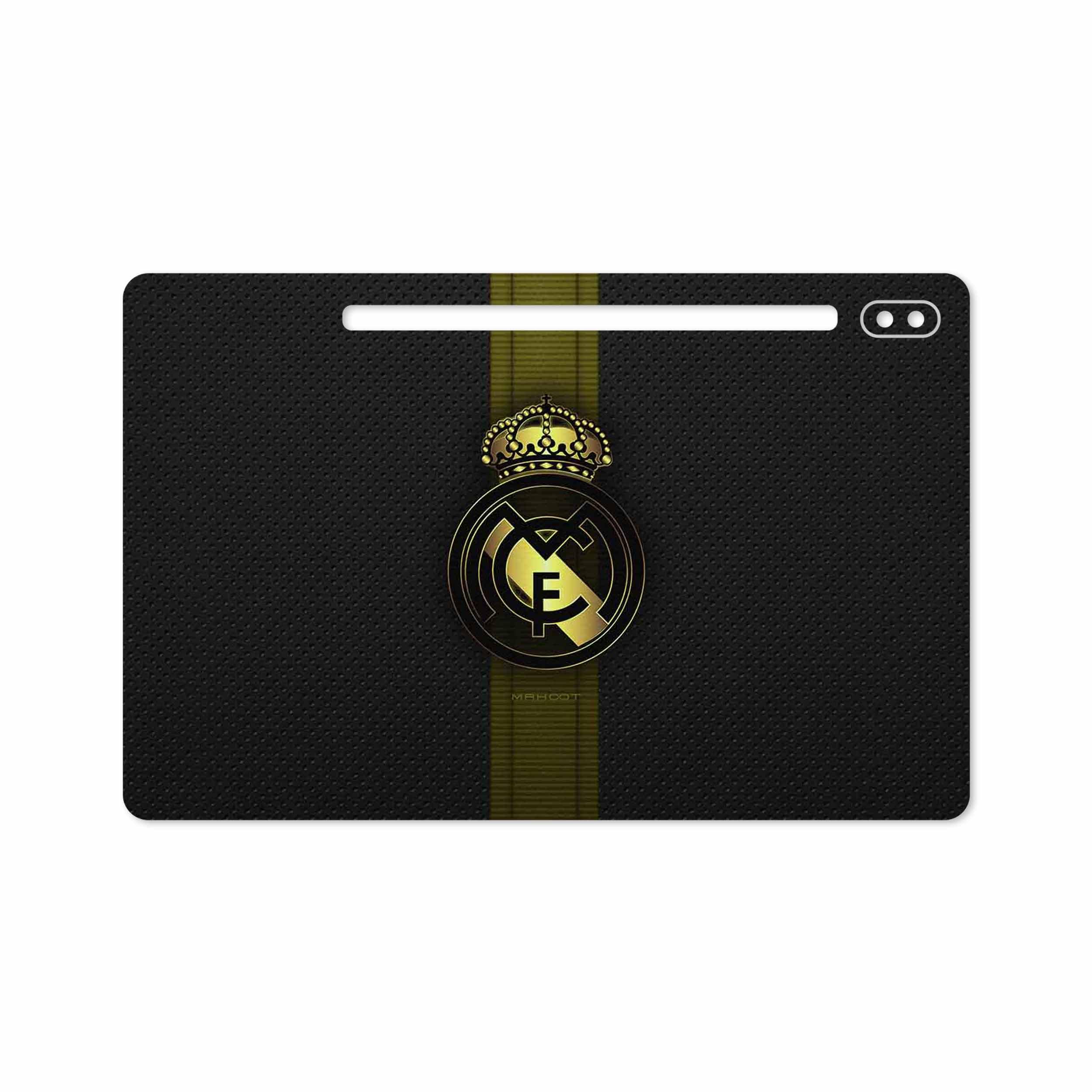 بررسی و خرید [با تخفیف]                                     برچسب پوششی ماهوت مدل Real-Madrid-2 مناسب برای تبلت سامسونگ Galaxy Tab S6 2019 SM-T865                             اورجینال