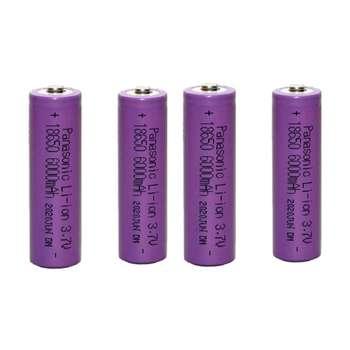 باتری لیتیوم یون قابل شارژ پاناسونیک کد 18650 ظرفیت 6000 میلی آمپرساعت بسته 4 عددی