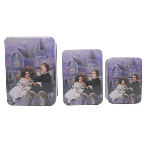 جعبه هدیه واته طرح فانتزی کودک کد KDT-J033 مجموعه 3 عددی