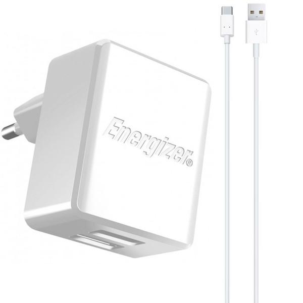 شارژر دیواری انرجایزر مدل HIGHTECH همراه با کابل USB-C