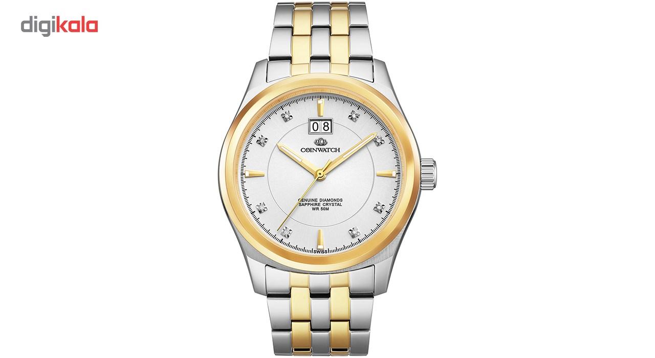 خرید ساعت مچی عقربه ای مردانه کوین واچ مدل C125TWH