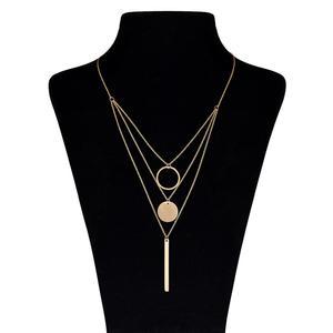 گردنبند طلا 18 عیار ماهک مدل MM0397