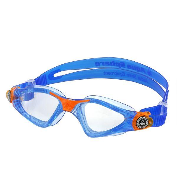 عینک شنای بچه گانه آکوا اسفیر مدل Kayenne JR لنز شفاف