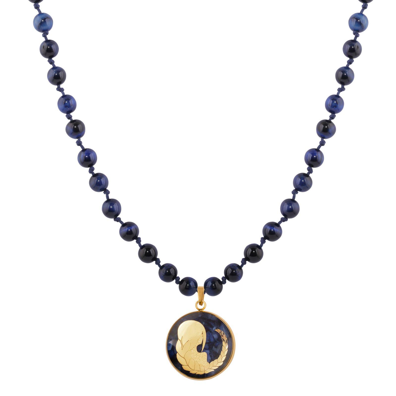 گردنبند زنانه الون طرح نماد ماه شهریور  کد TIG102 -  - 2