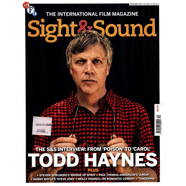 مجله Sight & Sound - دسامبر 2015