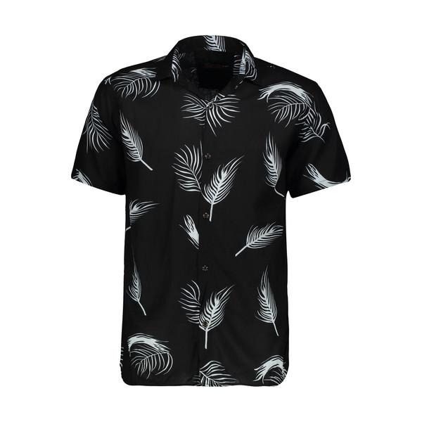 پیراهن مردانه مدل هاوایی کد H-06B