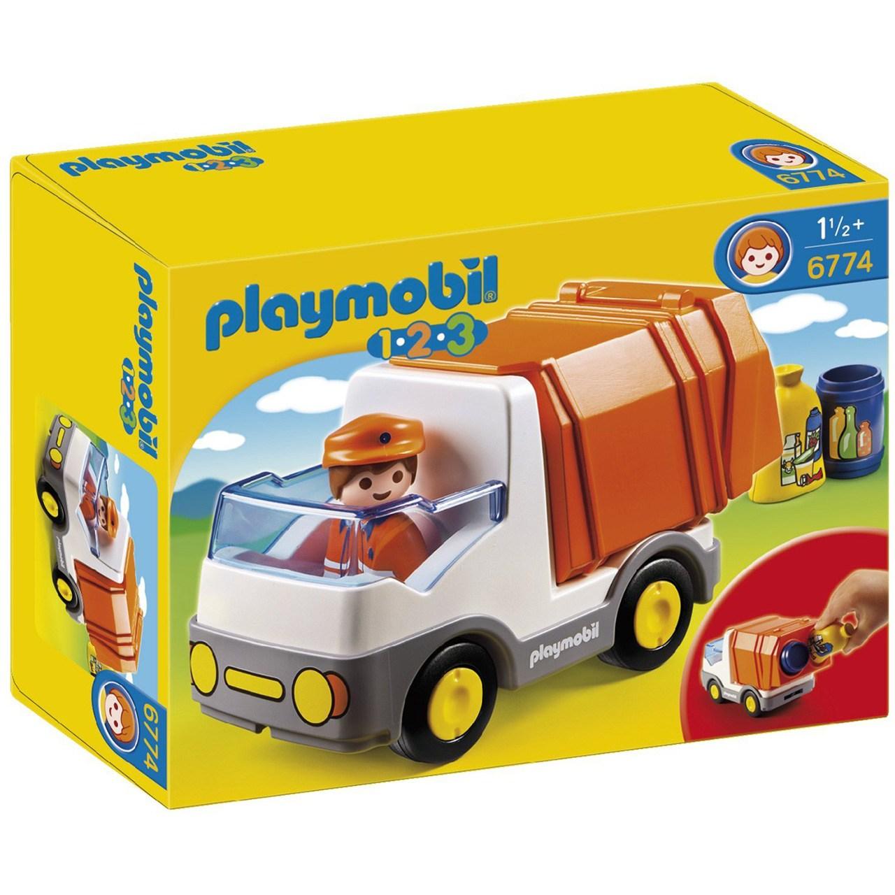 ساختنی پلی موبیل مدل Recycling Truck 6774