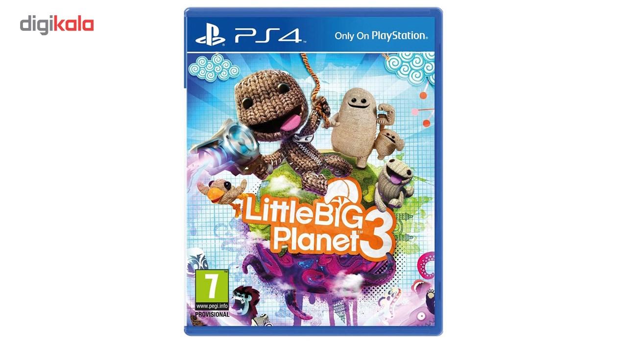 بازی Little Big Planet 3 مخصوص PS4