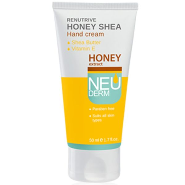 کرم دست نئودرم مدل Re-Nutrive Honey Shea حجم 50 میلی لیتر