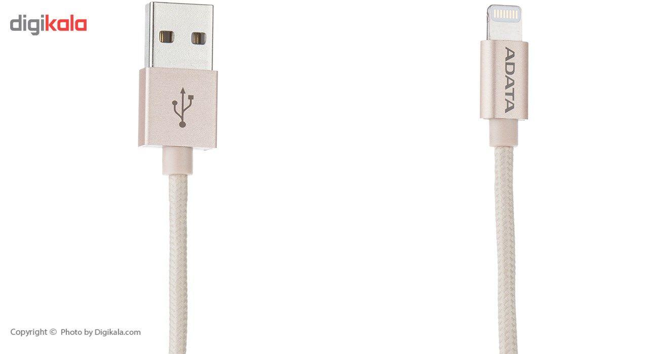 کابل تبدیل USB به لایتنینگ ای دیتا مدل Sync And Charge طول 1 متر main 1 6