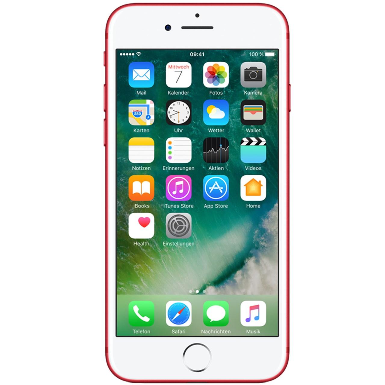 گوشی موبایل اپل مدل iPhone 7 (Product) Red ظرفیت ۱۲۸ گیگابایت