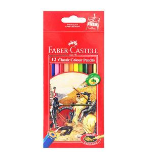 مداد رنگی 12 رنگ فابرکاستل مدل 5454584754