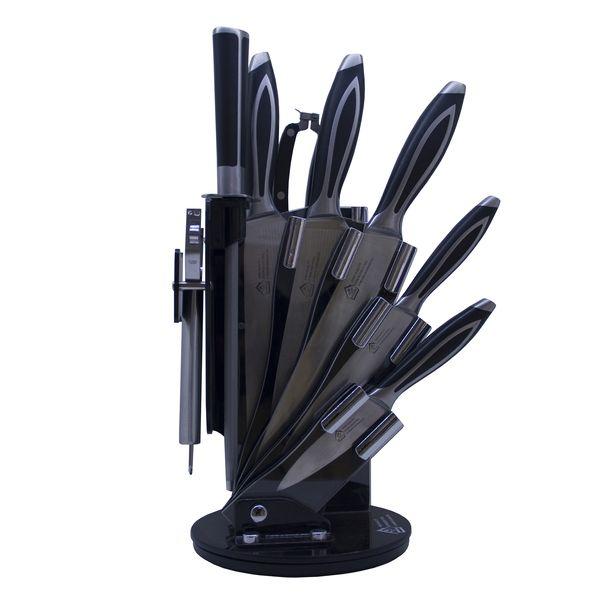 سرویس چاقو آشپزخانه 9 پارچه آکلیس کد 620