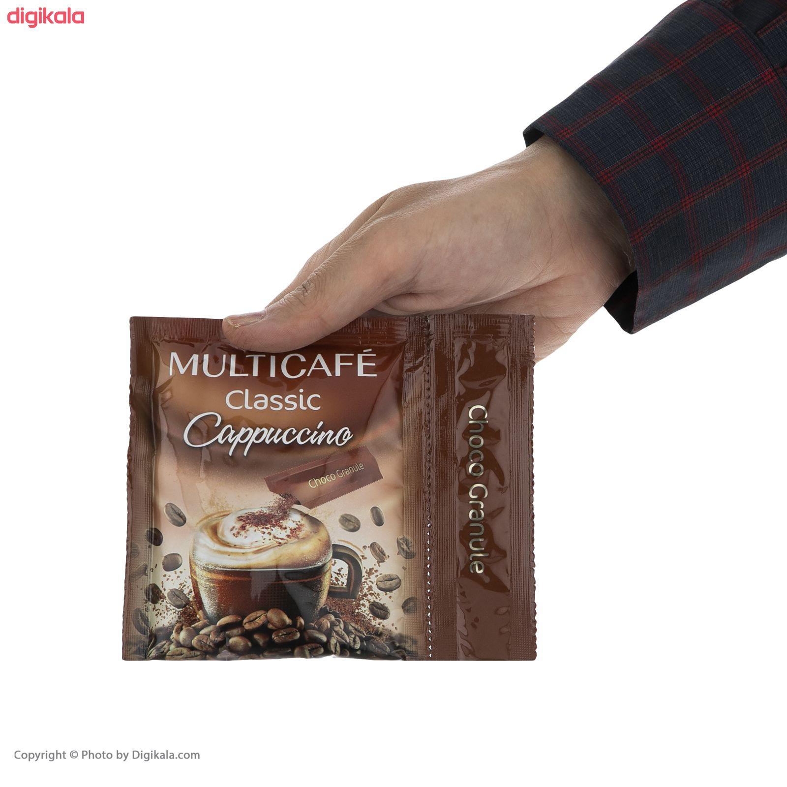 کاپوچینو مولتی کافه - 25 گرم بسته 20 عددی main 1 3