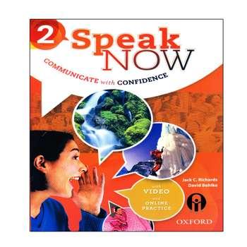 کتاب Speak Now 2 اثر Jack C. Richards And David Bohlke انتشارات الوند پویان