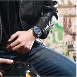 ساعت مچی عقربه ای مردانه مگالیت مدل SB 8207