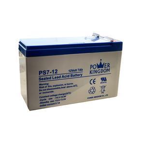 باتری یو پی اس 12 ولت 7.0 آمپر ساعت پاور کینگ دام مدل PS7_12