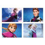 پوستر طرح فروزن کد A-2225-Frozen مجموعه 4 عددی