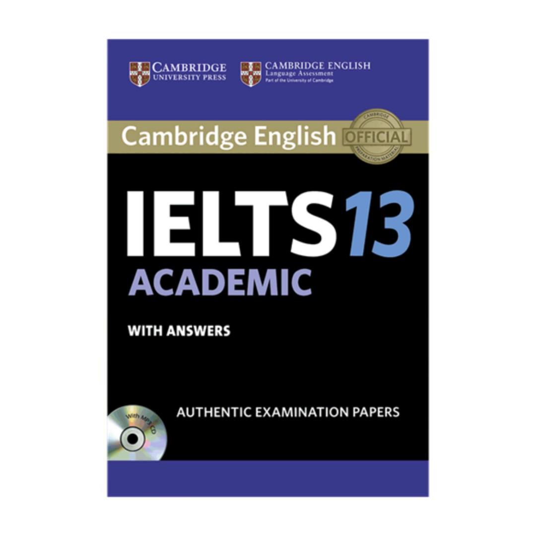 کتاب IELTS Cambridge 13 Academic اثر جمعی از نویسندگان انتشارات کمبریج