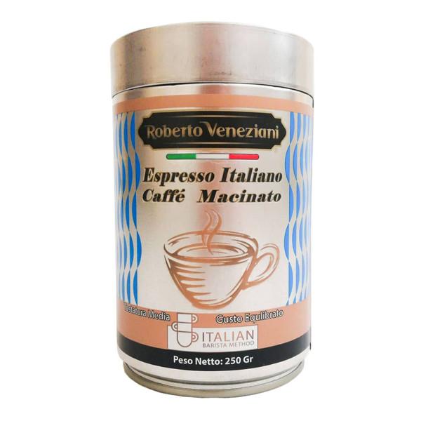 پودر قهوه اسپرسو با طعم ملایم آر وی - 250 گرم